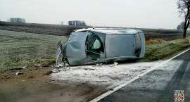 Groźny wypadek na trasie Strzelin - Oława