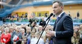 Prezydent Andrzej Duda w Złotoryi
