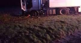 TIR wypadł z drogi na autostradzie A4!