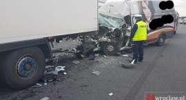 Od rana znów niebezpiecznie na drogach w okolicach Wrocławia