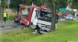 Poważny wypadek pod Wrocławiem