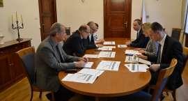 Spotkanie w sprawie budowy obwodnicy Oławy