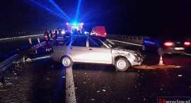 Wypadek na autostradzie pod Wrocławiem