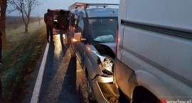 Wypadek na drodze Wrocław - Świdnica
