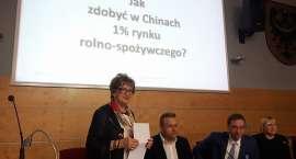 O inwestycjach w Chinach we Wrocławiu