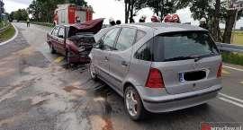 Kolejne zderzenie na zjeździe z autostrady A4 w Kostomłotach