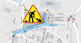 Przebudowa skrzyżowania Dyrekcyjnej i Borowskiej