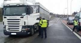 Pijany kierowca TIR-a myślał że jest w Holandii