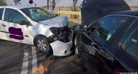 Kolejne zderzenie na zjeździe z autostrady w Kostomłotach
