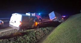 Jedna osoba ranna w wypadku na autostradzie A4