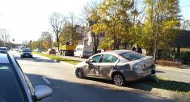 Wypadek na ulicy Wyścigowej