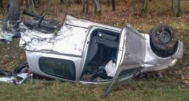 Groźny wypadek pod Oleśnicą