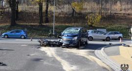 W Wałbrzychu zginął motocyklista