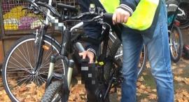 Dziupla z kradzionymi rowerami
