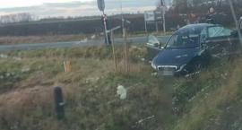 Zderzenie trzech pojazdów na trasie Strzelin - Wrocław