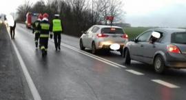 Zderzenie 4 aut na trasie Wrocław - Świdnica