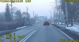 Pościg za piratem drogowym - film z videorejestratora