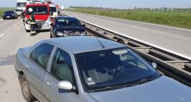 Autostrada A4 - Dwie kolizje z udziałem pięciu samochodów