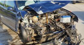 Poranny wypadek na autostradzie A4