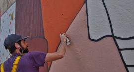 We Wrocławiu powstał mural w prezencie od holenderskiej Bredy