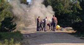 Ciężarówka uszkodziła zawór gazowy