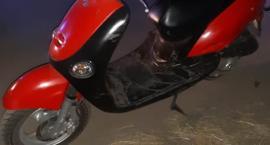Uciekali motorowerem przed policjantami - dwóch pijanych nastolatków zatrzymanych przrz policję