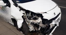 Wypadek na Sobieskiego