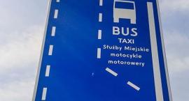 Nowy buspas dla autobusów na ul. Podwale