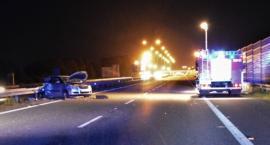 Zmarła druga osoba poszkodowana w wypadku na autostradzie A4