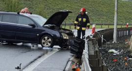 Wypadek na zjeździe z AOW