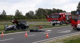 Śmiertelny wypadek na obwodnicy Miękini