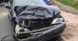 Jedna osoba w szpitalu po zderzeniu dwóch aut