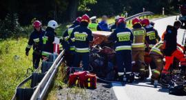 Groźny wypadek na krajowej ósemce