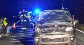 Śmiertelne potrącenie na drodze krajowej nr 25. Nie żyje 26-letni obywatel Ukrainy