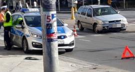 Wypadek na skrzyżowaniu Stalowej i Grabiszyńskiej