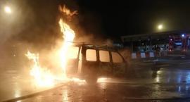 Na autostradzie A4 spłonęło auto