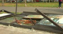 Policjanci zatrzymali mężczyznę podejrzanego o wjechanie w przystanek we Wrocławiu. Miał blisko 2,5 promila
