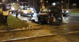 Wypadek przy pętli tramwajowej Poświętne