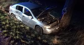 Zderzenie Opla z Citroenem na drodze Strzelin-Jegłowa