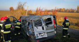 Wypadek na DK-35 w Mirosławicach