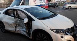 Wypadek na skrzyżowaniu Osobowickiej z Bałtycką