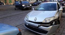 Zderzenie 2 pojazdów na ulicy Prusa we Wrocławiu
