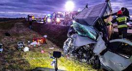 Dziewięć osób poszkodowanych w wypadku na autostradzie A4