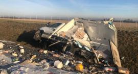 [Aktualizacja foto] Wypadek na autostradzie A4 pod Legnicą
