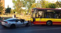 Corvetta kontra autobus MPK