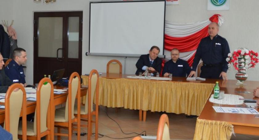 Region, Debata dotycząca poprawy stanu bezpieczeństwa gminie Susiec - zdjęcie, fotografia
