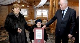 Setne urodziny mieszkanki Aleksandrowa
