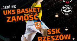 UKS Basket Zamość zagra z liderem