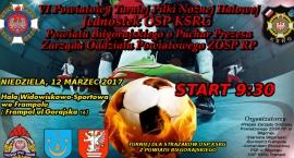 VI Powiatowy Turniej Piłki Nożnej Halowej
