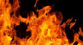 Spłonął w pożarze domu